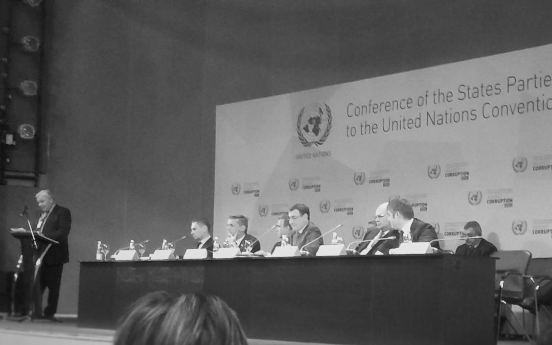Противодействие коррупции: позиция государства и ООН